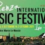 """""""Pienza International Music Festival – Ivo Petri"""": dal 5 Settembre al 2 Ottobre 2021 – VI Edizione"""